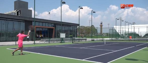 ⑥博雅网球公园