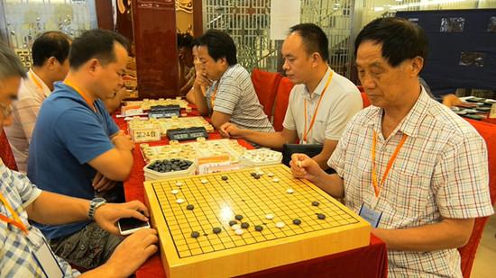 """首届""""健康湖南""""全民运动会象棋围棋选拔""""千人百团大战赛""""开赛"""