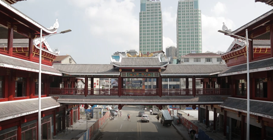 """太平桥廊桥预计今年""""十一""""假期正式开业"""
