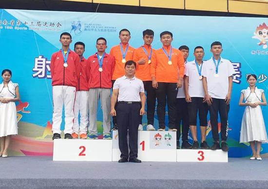 我区射击队参加第十三届省运会获多枚奖牌