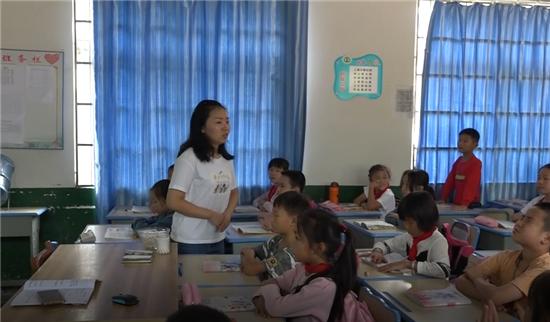 乡村教师向丽用实际行动诠释一名教师的真谛