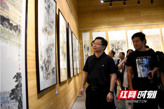 """2018""""欢乐潇湘 文化益阳""""群众美术、书法、摄影展"""