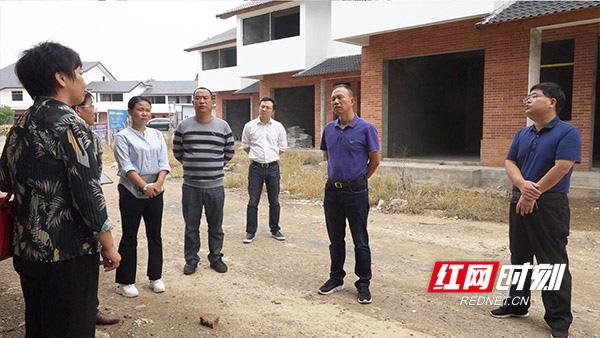 西湖领导调研渔民新村重点项目