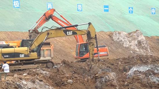 怀化城东污水处理厂顺利施工 一期项目预计今年12月底前完成建