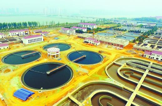 长沙最大污水处理厂建成通水