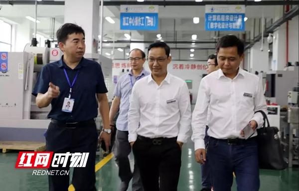 常德技师学院与湖南飞沃新能源公司洽谈校企合作