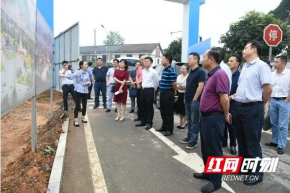 湖南发展集团总裁刘健一行调研益阳高新区康养产业