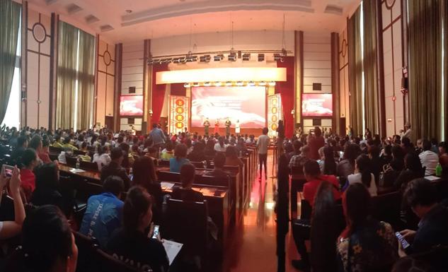 鹤城区举办第二届全民阅读音乐诗歌朗诵会
