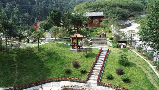 怀化城区重点旅游项目叠翠兰亭温泉正式开园
