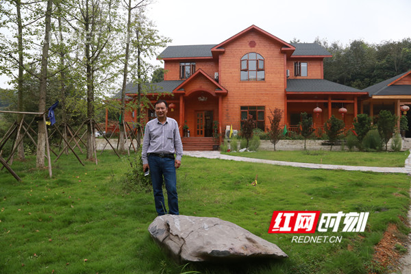 蒋洪松和他的绿色生态农业园。.jpg