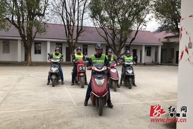 零陵:村级义务巡逻队织密联防网