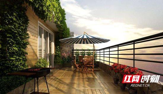 匠心双阳台设计,美景当下的万般情调生活