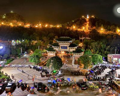 九老峰夜景