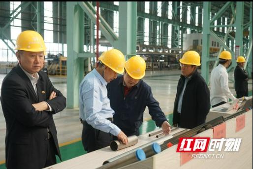 国投委中南地区会员单位考察湘投集团旗下产业