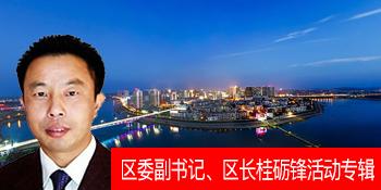 区委副书记、区长桂砺锋活动专题