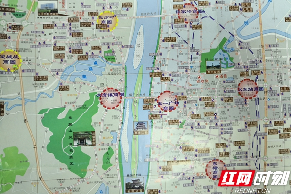 改革开放40年|老地图见证长沙楼市变迁