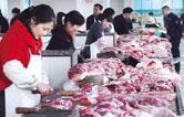 常德市领导督查猪肉市场供应工作
