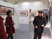市博物馆举办张其然个人书画展
