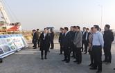 长沙市开福区考察团来城陵矶新港区交流学习
