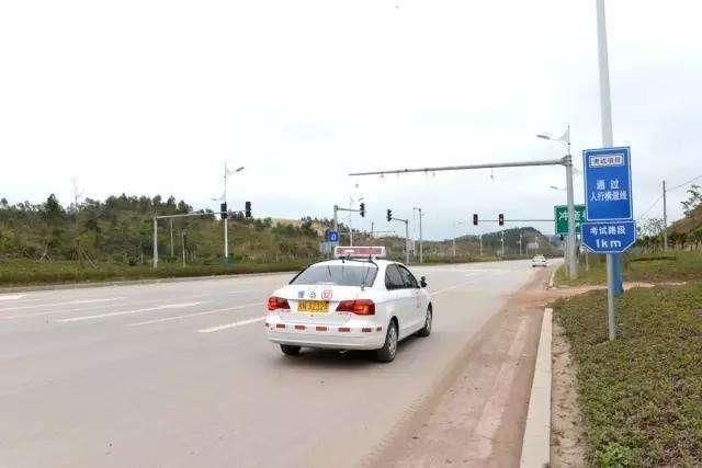 汉寿交警公布全县教练车训练线路