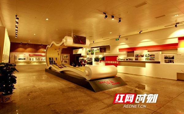 """江华规划展示馆成为永州市唯一""""省级生态文明教育基地"""""""