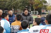 国足老帅朱广沪点拨娄底校园足球 关键在于普及