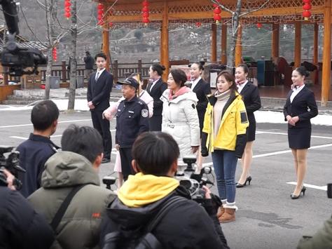 湖南卫视《乡村合伙人》拍摄组走进黄岩大坪村