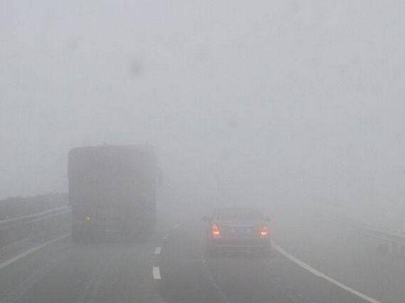 大雾黄色预警!17日早晨全省有能见度较低的大雾、浓雾