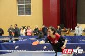 全省市州教育机关干部职工乒乓球团体赛在芷兰实验学校开幕