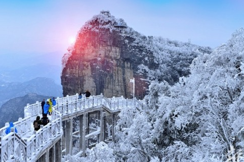Hunan's Most Beautiful Snowy Landscapes
