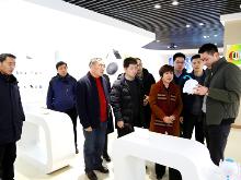 省担保集团来湘西经开区考察中小企业融资担保工作