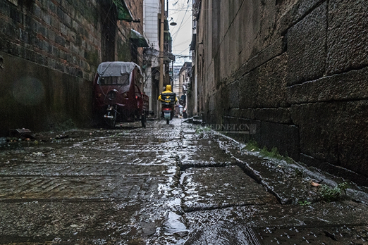 Tongrenli, an old alley in Changsha