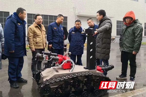全省跨区域大跨度大空间灭火实战演练在永州经开区举行