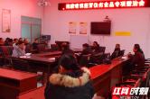 安乡陈家嘴镇开展年末排隐患保安全集中宣传活动