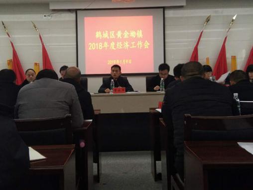 黄金坳镇召开2018年度经济工作会