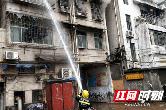 桃源一公司居民楼突起大火 火势猛烈燃烧(视频)