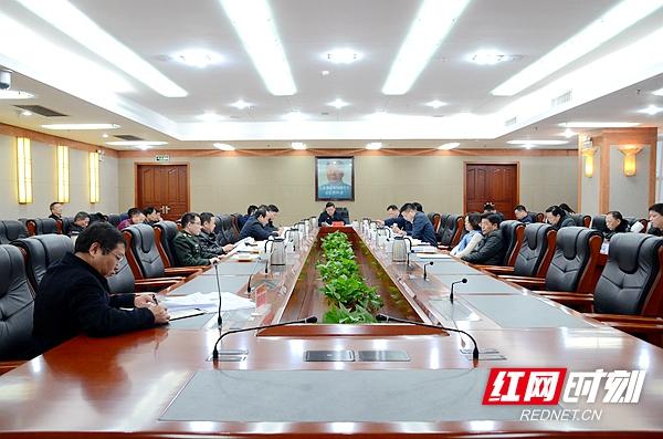 曹炯芳主持召开湘潭市委常委会会议  传达省委十一届七次会议精神等