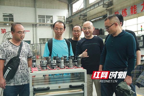 2018年6月,洪江市职业中专学校专业教师来湖南工业职院交流参观。.jpg