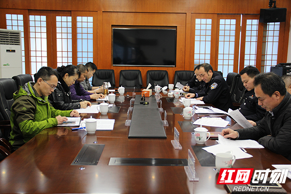 株洲市禁毒委副主任凌娅一行在茶陵调研督导工作