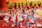 淮阳中学举行2019年教职工春节联欢晚会