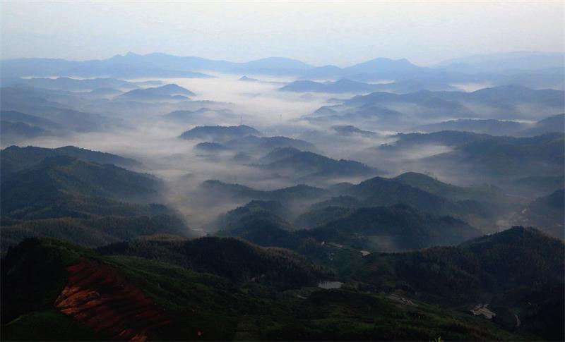 五彩大云山
