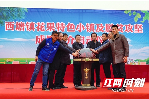 岳阳经开区西塘花果小镇登上农品中国云平台