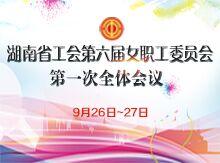 湖南省工会第六届女职工委员会第一次全体会议召开