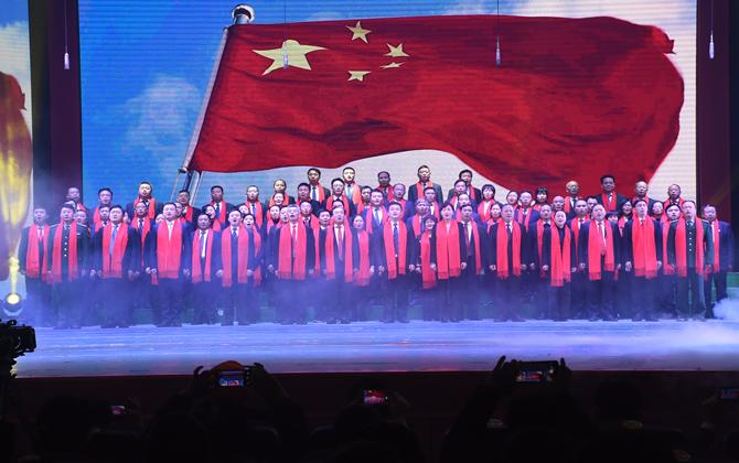 榜样力量引领前行路 雨湖2019春晚精彩上演