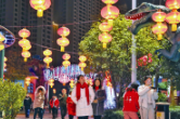 常德非遗文化嘉年华暨新春灯会在丁玲公园举行