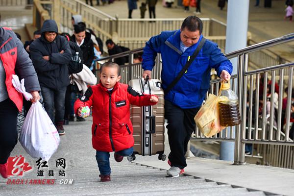 道县:今明两天将迎来节后客流返程高峰