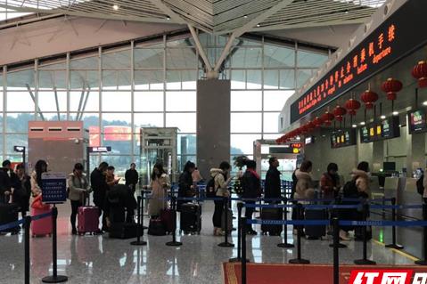 Hunan's Airports See Travel Peak