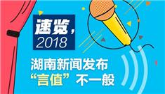 """【图解】速览,2018湖南新闻发布""""言值""""不一般"""