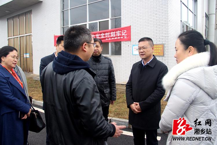 周俊文现场办公:全力支持外向型经济发展