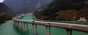 通往昭君故里的最美水上公路